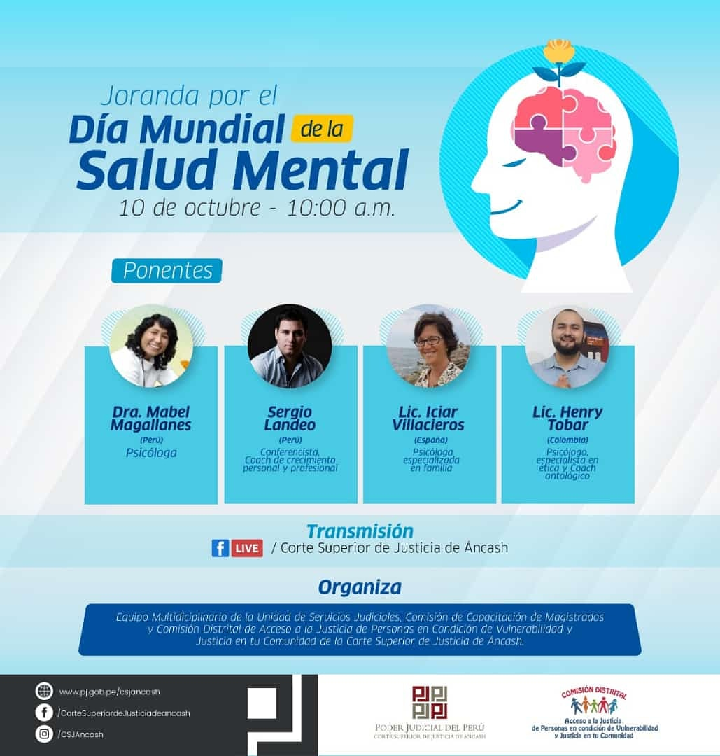 Cartel del Evento de Salud Mental